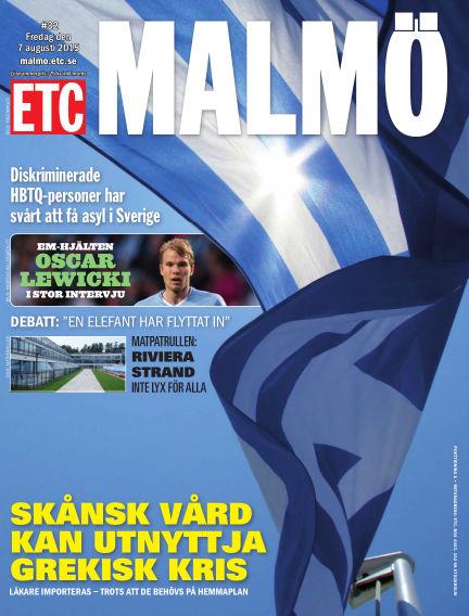 ETC Lokaltidningen (Inga nya utgåvor) August 07, 2015 00:00