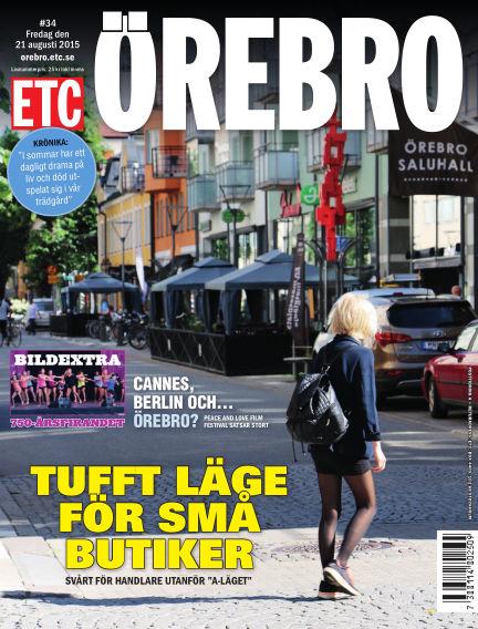ETC Lokaltidningen (Inga nya utgåvor) August 21, 2015 00:00