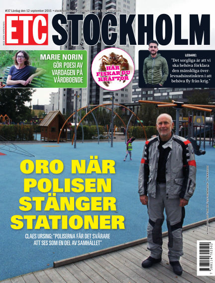 ETC Lokaltidningen (Inga nya utgåvor) September 11, 2015 00:00