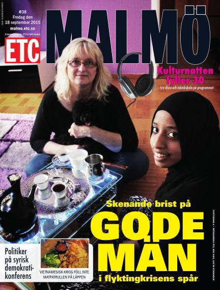 ETC Lokaltidningen (Inga nya utgåvor) September 18, 2015 00:00