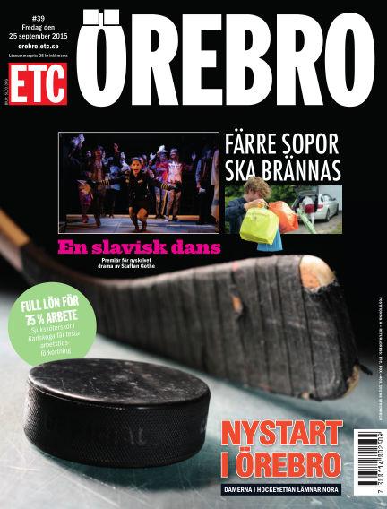 ETC Lokaltidningen (Inga nya utgåvor) September 25, 2015 00:00