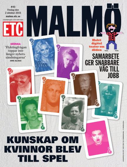 ETC Lokaltidningen (Inga nya utgåvor) October 02, 2015 00:00