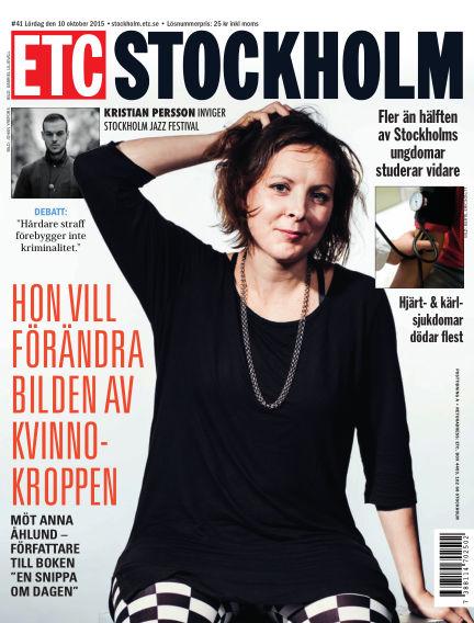 ETC Lokaltidningen (Inga nya utgåvor) October 09, 2015 00:00