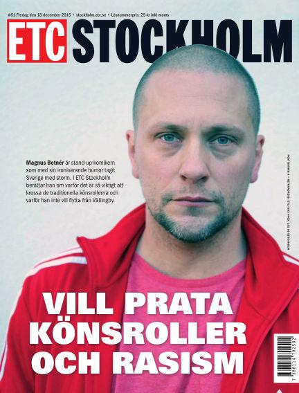 ETC Lokaltidningen (Inga nya utgåvor) December 18, 2015 00:00
