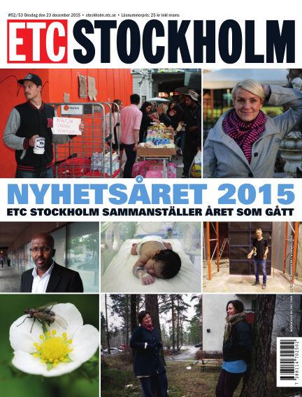 ETC Lokaltidningen (Inga nya utgåvor) December 23, 2015 00:00