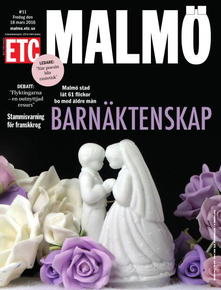 ETC Lokaltidningen (Inga nya utgåvor) March 18, 2016 00:00