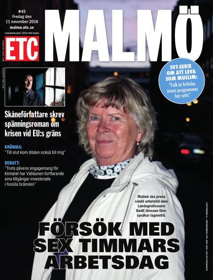 ETC Lokaltidningen (Inga nya utgåvor) November 11, 2016 00:00