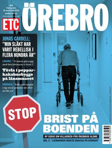 ETC Lokaltidningen (Inga nya utgåvor) November 18, 2016 00:00