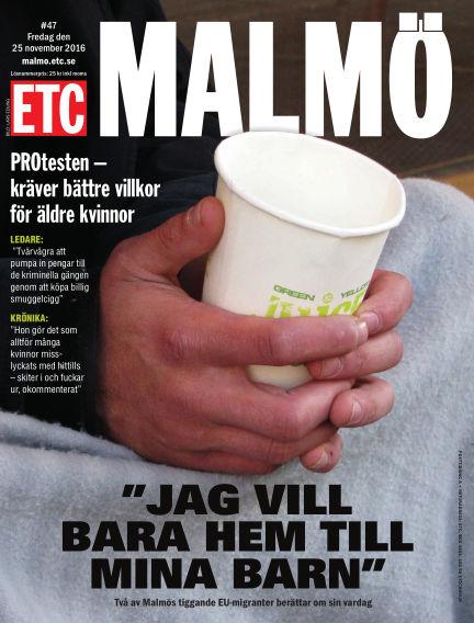 ETC Lokaltidningen (Inga nya utgåvor) November 25, 2016 00:00