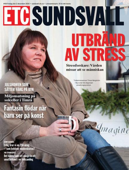 ETC Lokaltidningen (Inga nya utgåvor) December 02, 2016 00:00