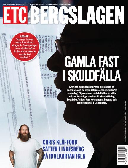 ETC Lokaltidningen (Inga nya utgåvor) October 06, 2017 00:00