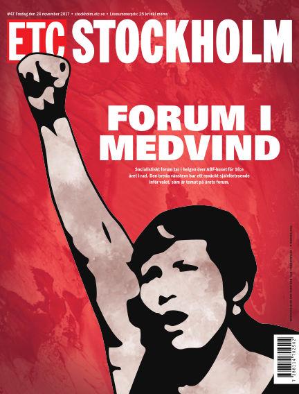 ETC Lokaltidningen (Inga nya utgåvor) November 24, 2017 00:00
