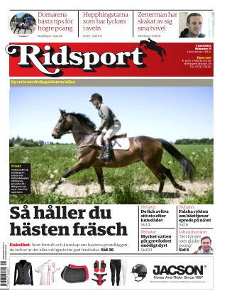 Ridsport 2013-06-07