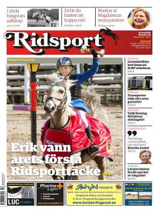 Ridsport 2013-05-23