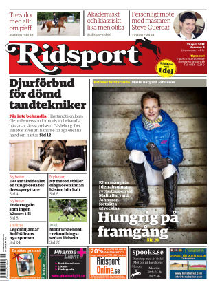 Ridsport 2013-04-25