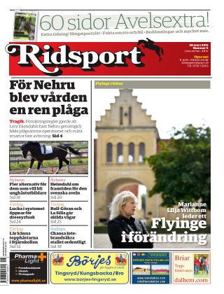Ridsport 2013-03-28