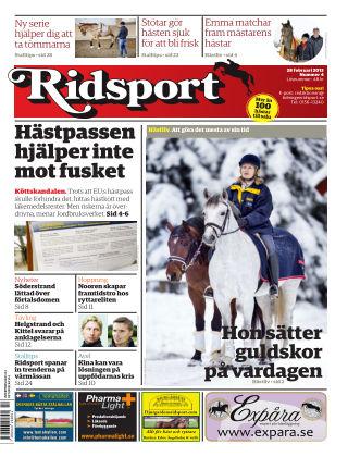 Ridsport 2013-02-28