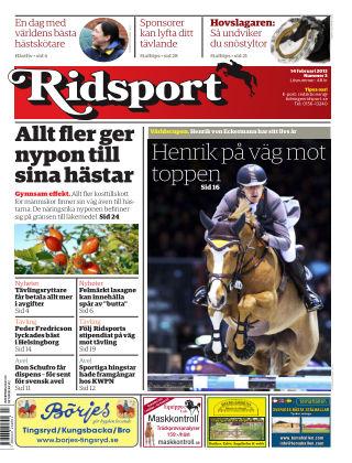 Ridsport 2013-02-14