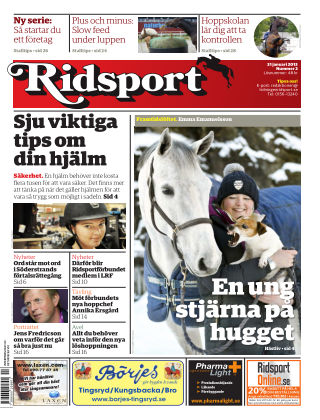 Ridsport 2013-01-31