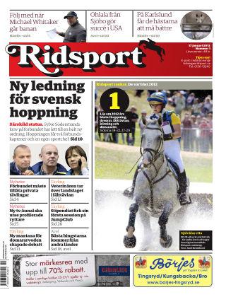 Ridsport 2013-01-17