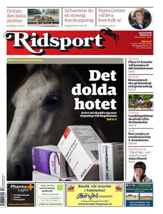 Ridsport 2013-06-20