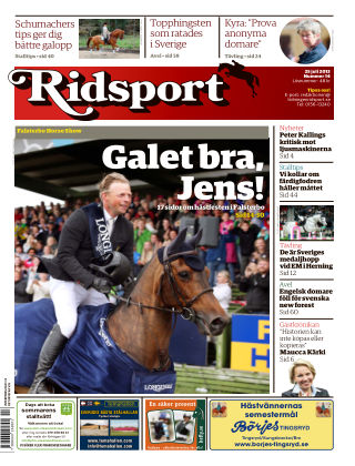 Ridsport 2013-07-25