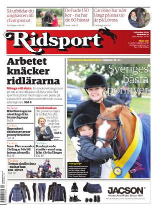 Ridsport 2013-10-03