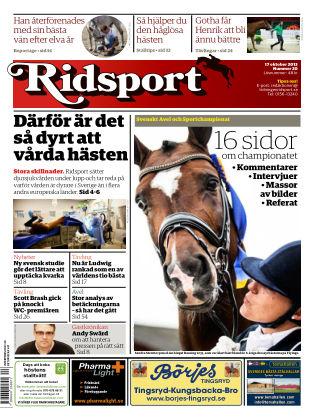Ridsport 2013-10-17