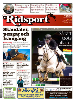 Ridsport 2013-10-31