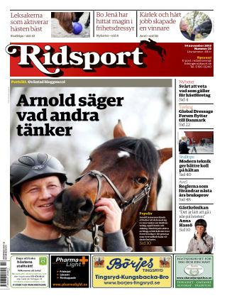Ridsport 2013-11-14