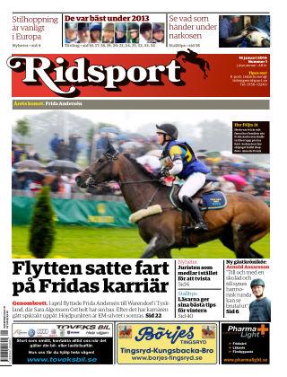 Ridsport 2014-01-16