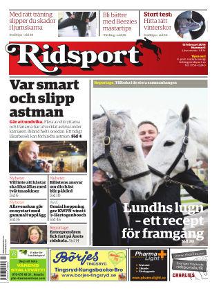 Ridsport 2014-02-13