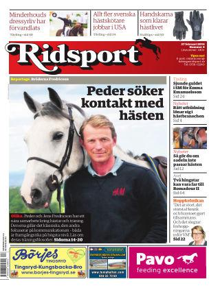 Ridsport 2014-02-27