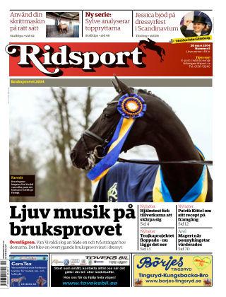 Ridsport 2014-03-20