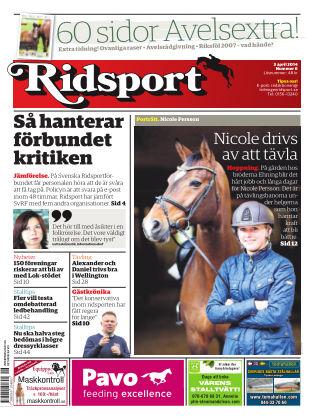 Ridsport 2014-04-03