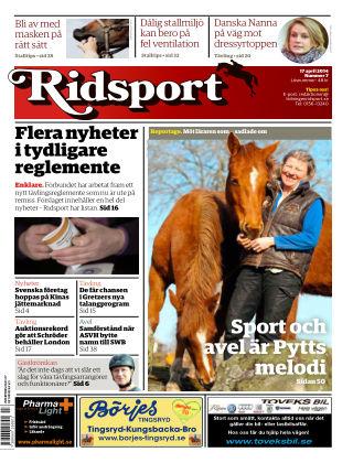 Ridsport 2014-04-17