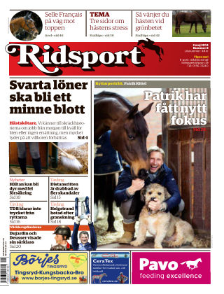 Ridsport 2014-05-02