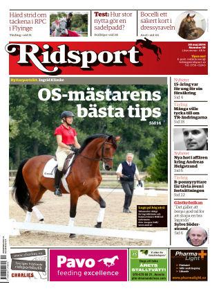 Ridsport 2014-05-30