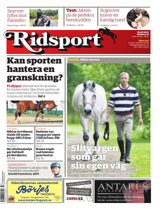 Ridsport 2014-07-10