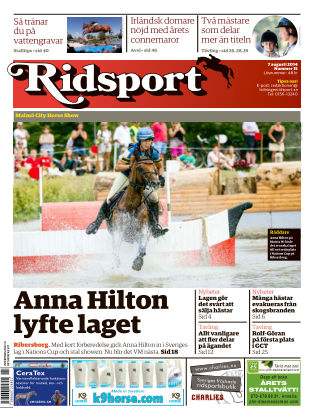 Ridsport 2014-08-07