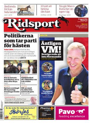 Ridsport 2014-08-21