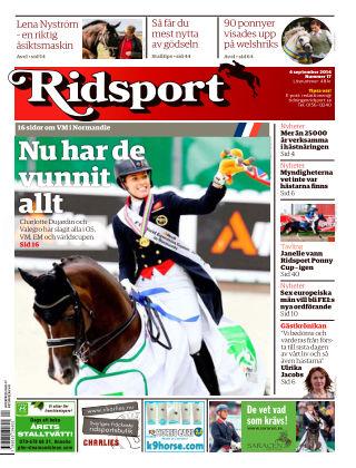 Ridsport 2014-09-04