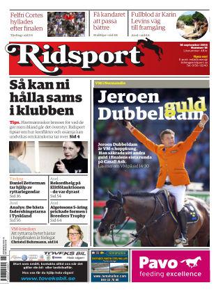 Ridsport 2014-09-18