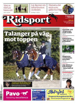 Ridsport 2014-10-16