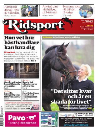 Ridsport 2014-11-13