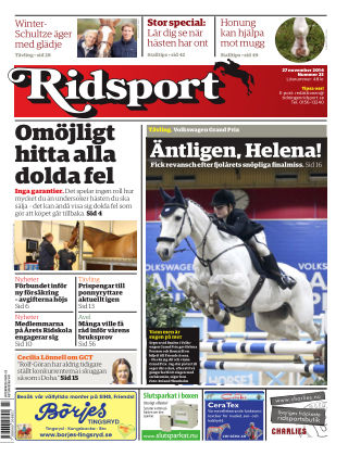 Ridsport 2014-11-27