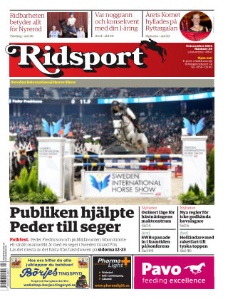 Ridsport 2014-12-11