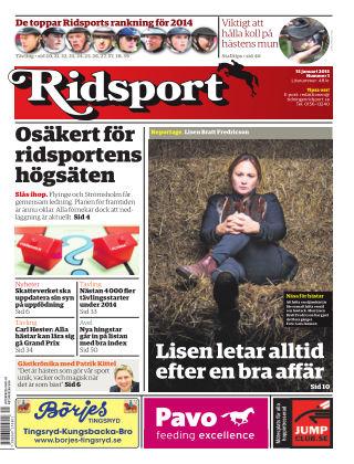 Ridsport 2015-01-15
