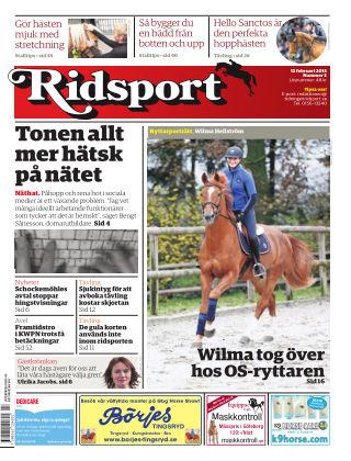 Ridsport 2015-02-12