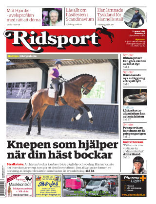 Ridsport 2015-03-12